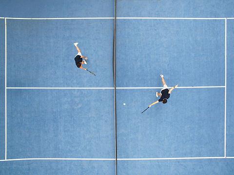 Aulas de tenis individual