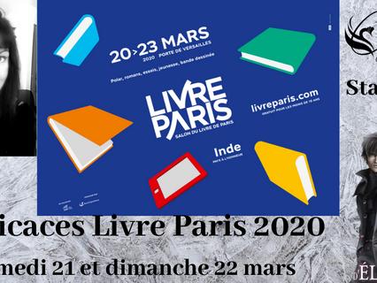 Dédicaces Livre Paris 2020 avec Cyplog