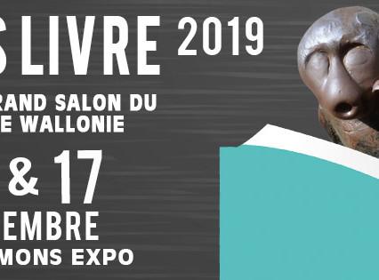 Dédicace Mon's livre 2019 en Belgique