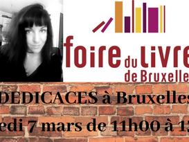 Dédicaces Foire du livre de Bruxelles 2020