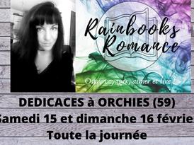 Dédicaces Rainbooks romance 2019 à Orchies