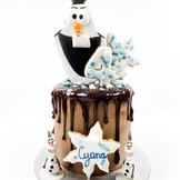 Olaf Cake