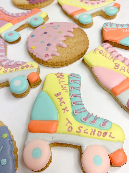 Rollin' Back To School Cookie