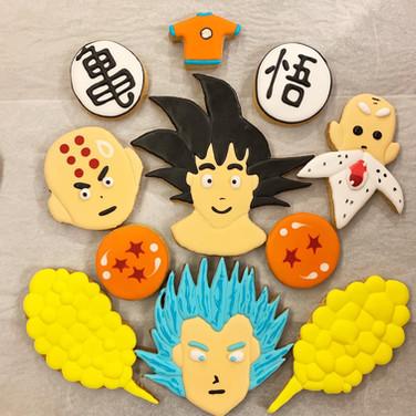 Dragon Ball Cookie Set