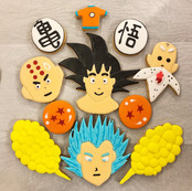 Dragon Ball Cookie Set