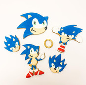 Sonic Cookie Set