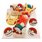 Pokemon Number Cake