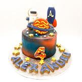 Astronaut Cake