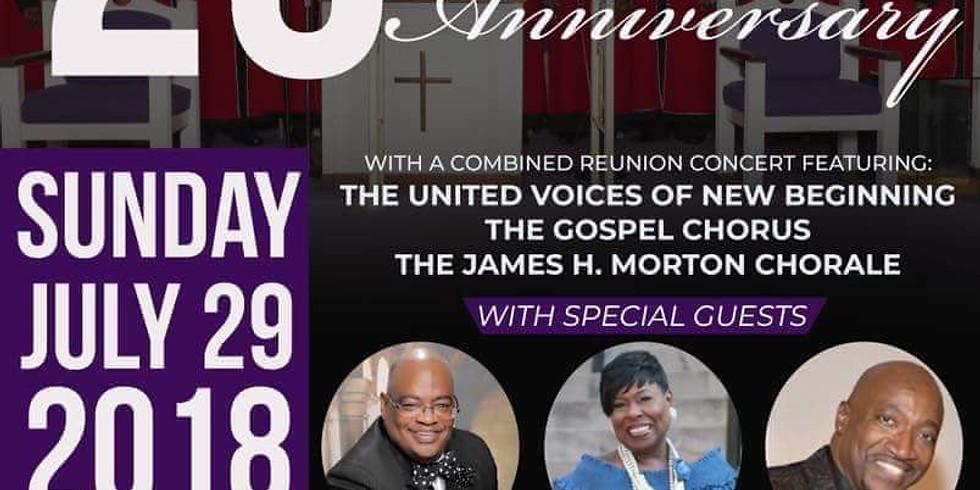 25th Anniv. New Beginning Gospel Choir