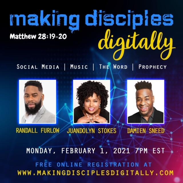 Making Disciples Digitally - Matthew 28:19-20