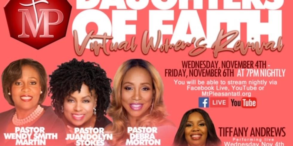Daughter's of Faith Virtual Women's Revival
