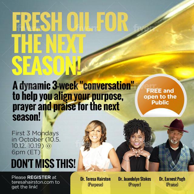Fresh Oil for the Next Season (1)