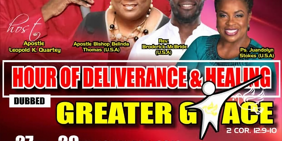 Hour of Deliverance & Healing