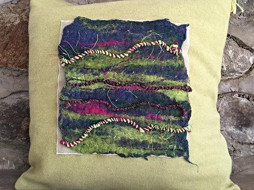 Stripey pillow
