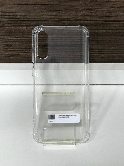 Capa TPU transparente reforçada samsung A30S / A50