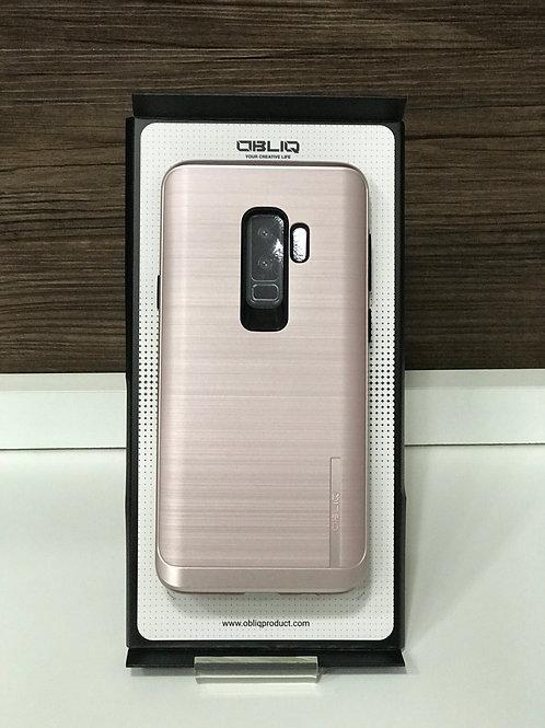 Capa Protetora Obliq Slim Meta samsung S9 plusRose Gold