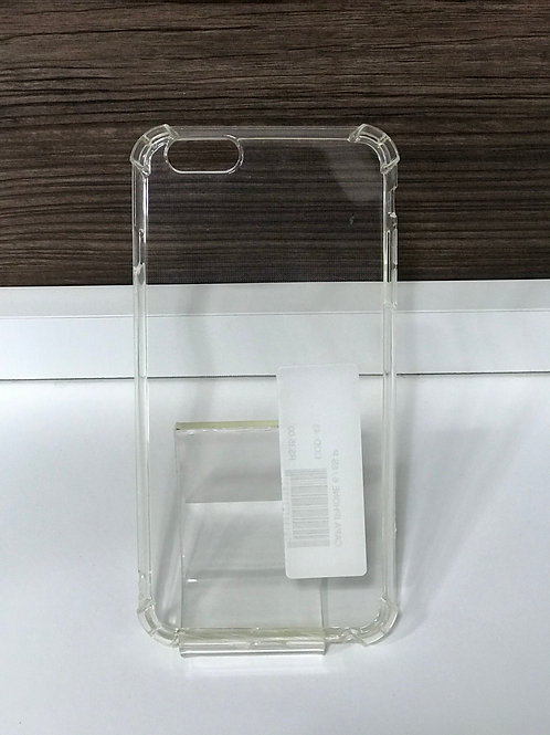 Capa TPU transparente reforçada iphone 6 plus /6s plus