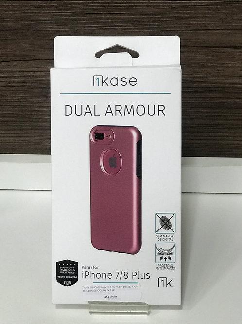 Capa Anti-Impacto Dual Armour Ikase para Iphone 6S PLUS/ 7 PLUS/ 8 PLUS