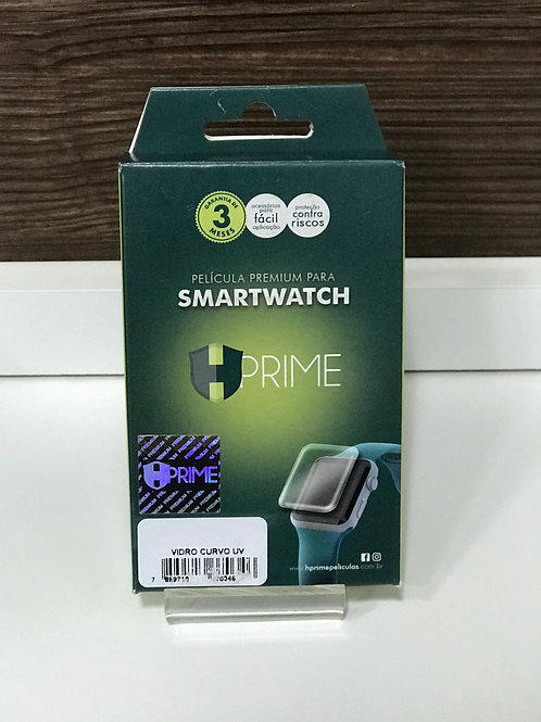 Película Premium HPrime Vidro Temperado Curvo UV Apple Watch 38 mm