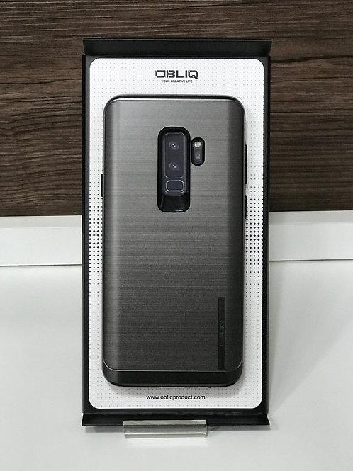 Capa Protetora Obliq Slim Meta para samsung S9 Plus Preta