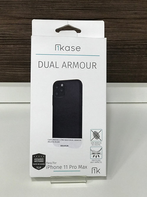Capa Anti-Impacto Dual Armour Ikase para Iphone 11 Pro max