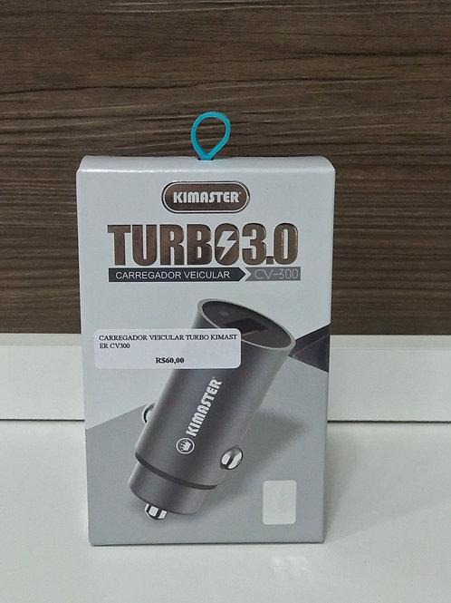 Carregador Veicular Turbo Kimaster 3.0