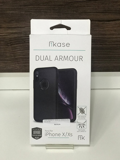 Capa Anti-Impacto Dual Armour Ikase para Iphone X/Xs