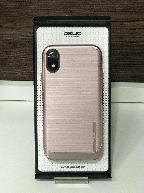 Capa Protetora Obliq Slim Meta para Iphone XR Rose Gold