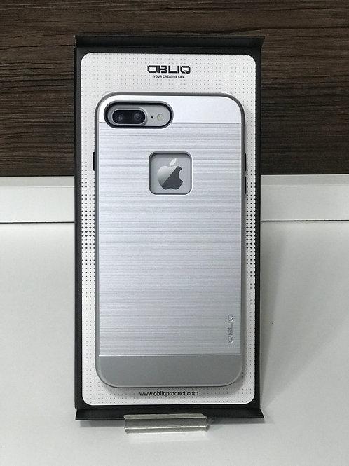 Capa Protetora Obliq Slim Meta para Iphone 7 Plus/ 8 PlusPrata