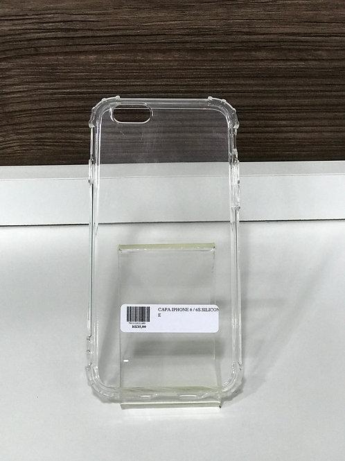 Capa TPU transparente reforçada iphone 6 /6s