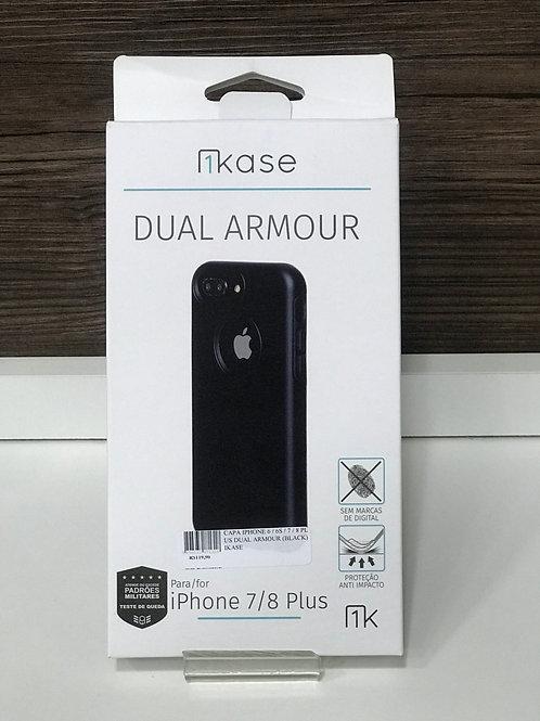 Capa Anti-Impacto Dual Armour Ikase para Iphone 7 Plus / 8 Plus
