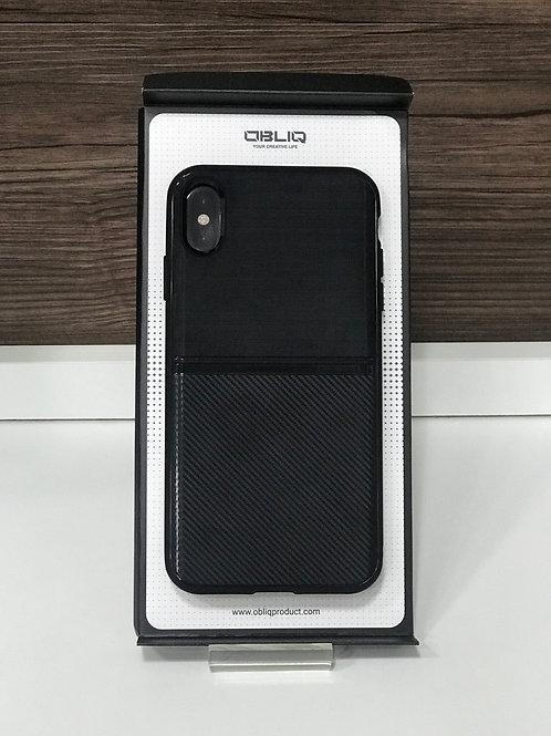 Capa Obliq FLEX PRO iphone Xs max Preto