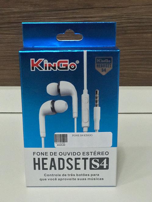 Fone de ouvido estéreo com microfone Kingo