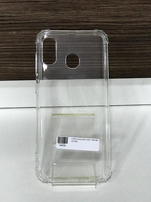 Capa TPU transparente reforçada samsung A20 / A30