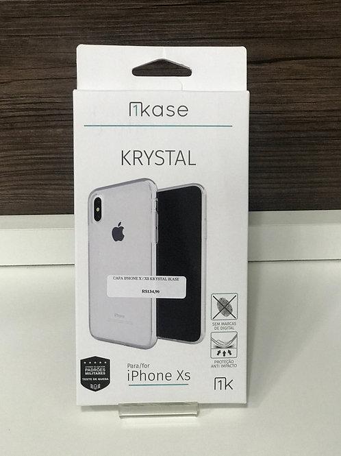 Capa Krystal para iPhone X/XS