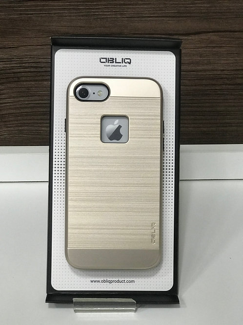 Capa Protetora Obliq Slim Meta para Iphone 7/8 Gold
