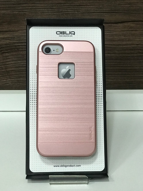 Capa Protetora Obliq Slim Meta para Iphone 7/8 Rose Gold