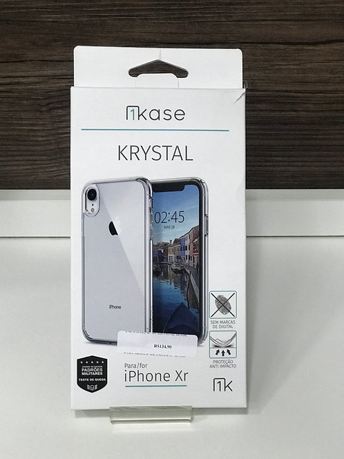 Capa Krystal para iPhone XR