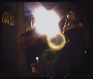 "Screenshot from - Kristina Bazan - Acoustic performance - Title "" the devil"" (c) Fred Alenda & Nicolas Jouanneau Dario"