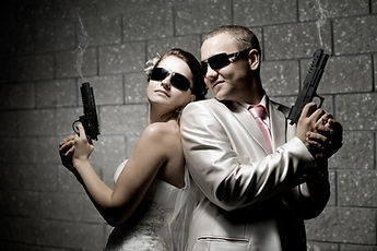 couple-shooting-range-together-two-gun-t
