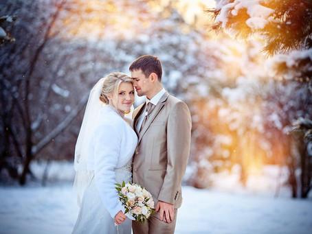 Зимняя свадьба: самые большие плюсы и маленькие минусы.