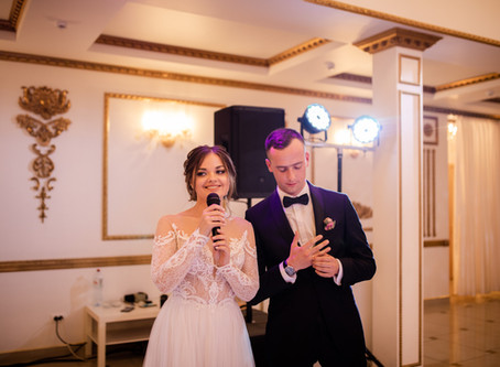 Кульминация свадьбы —ответное слово молодых.