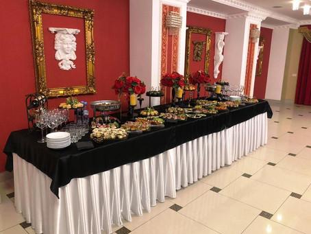 Приветственный фуршет на свадьбе – вкусная «изюминка» всего торжества!