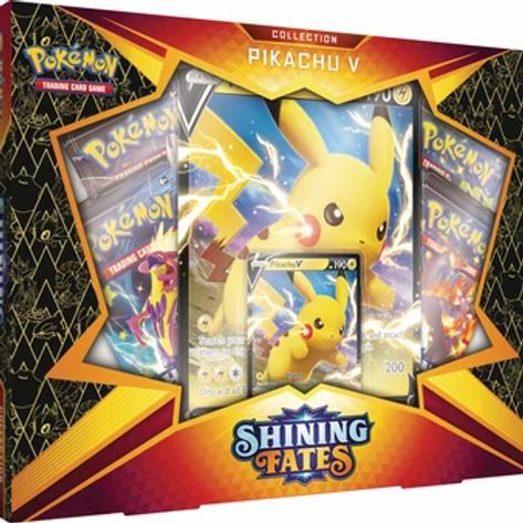 Shining Fates Pikachu V Box