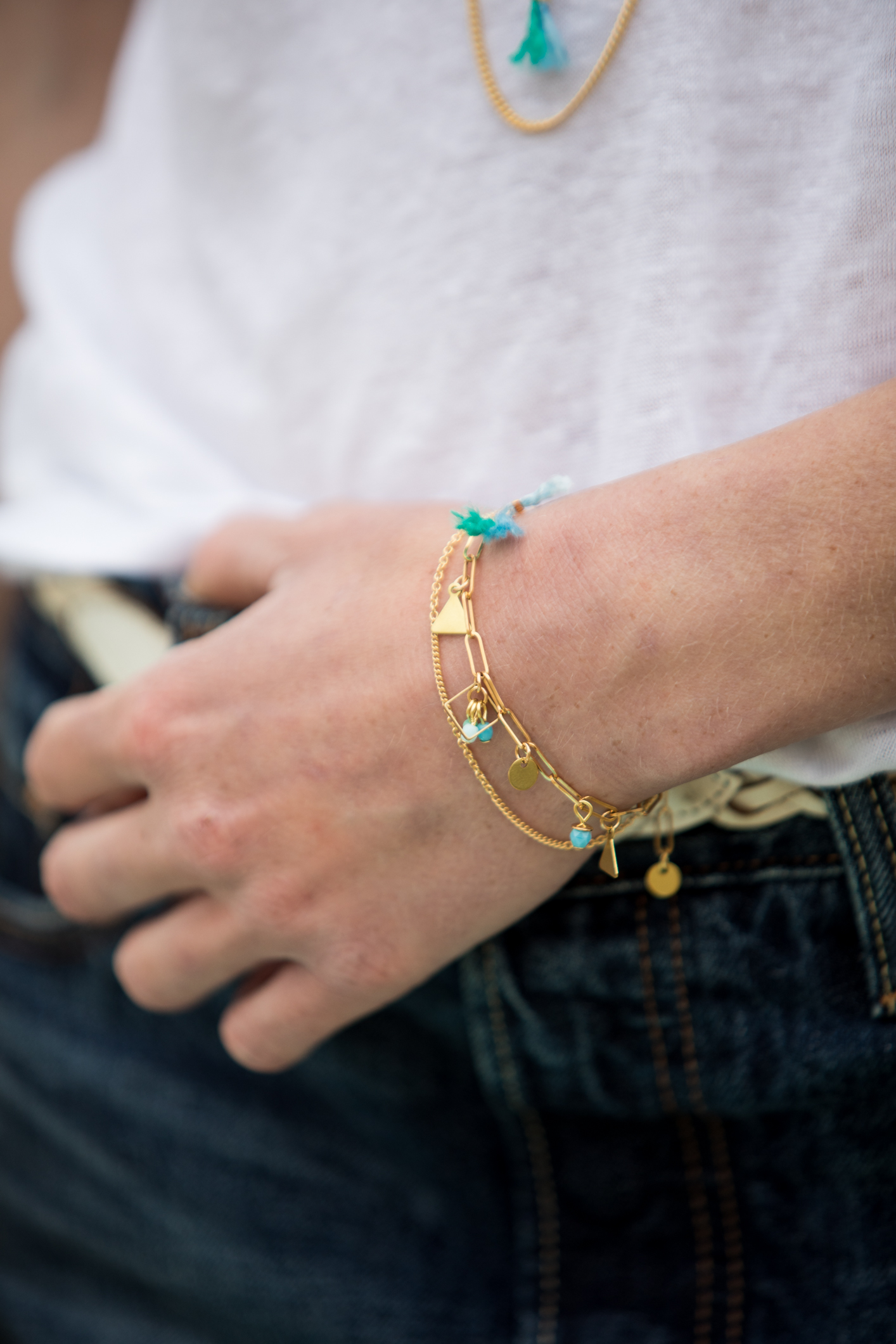 bracelet Idole aqua