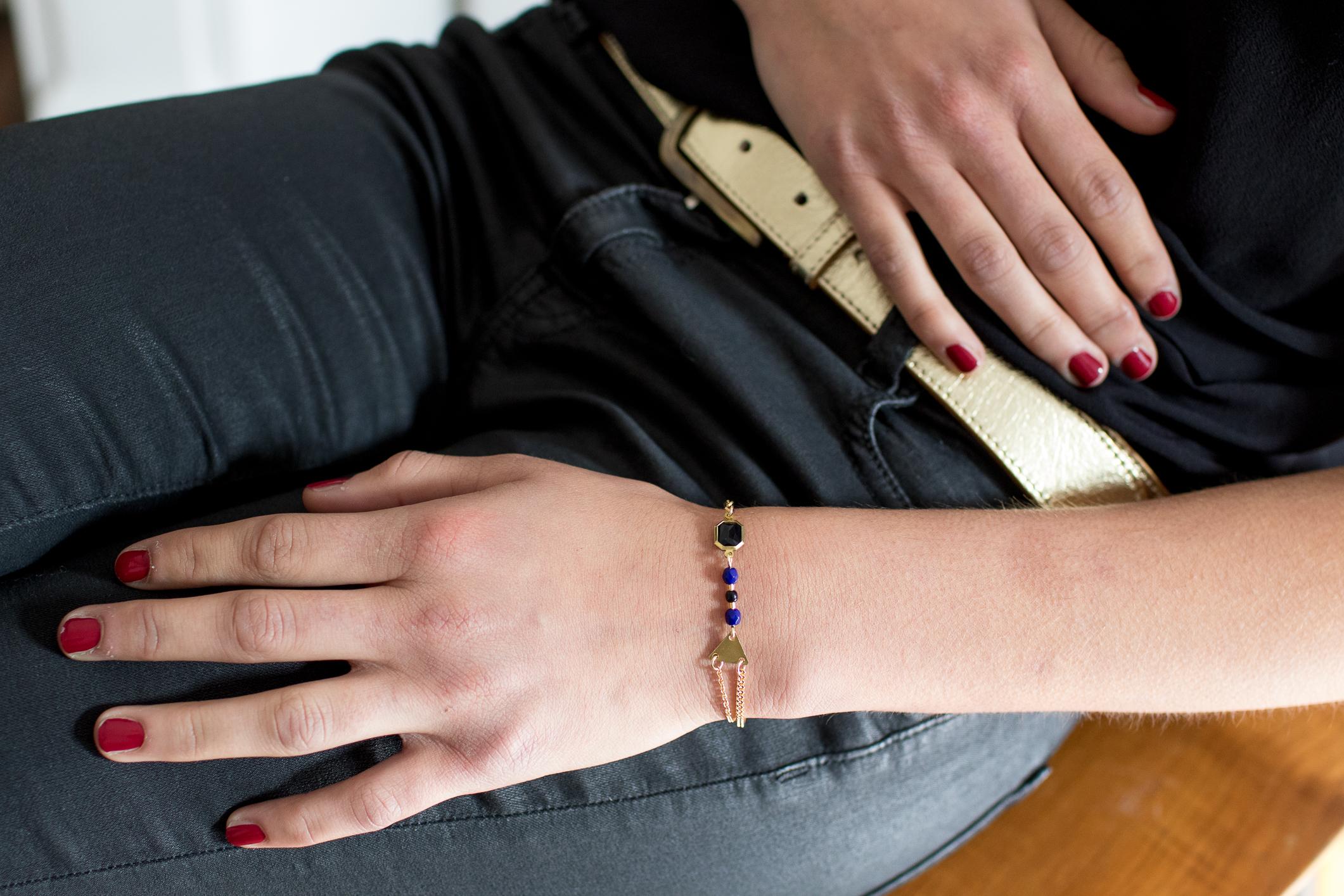 bracelet bleu noir-5-1