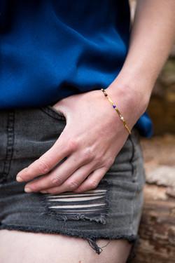 Bracelet songe bleu nuit