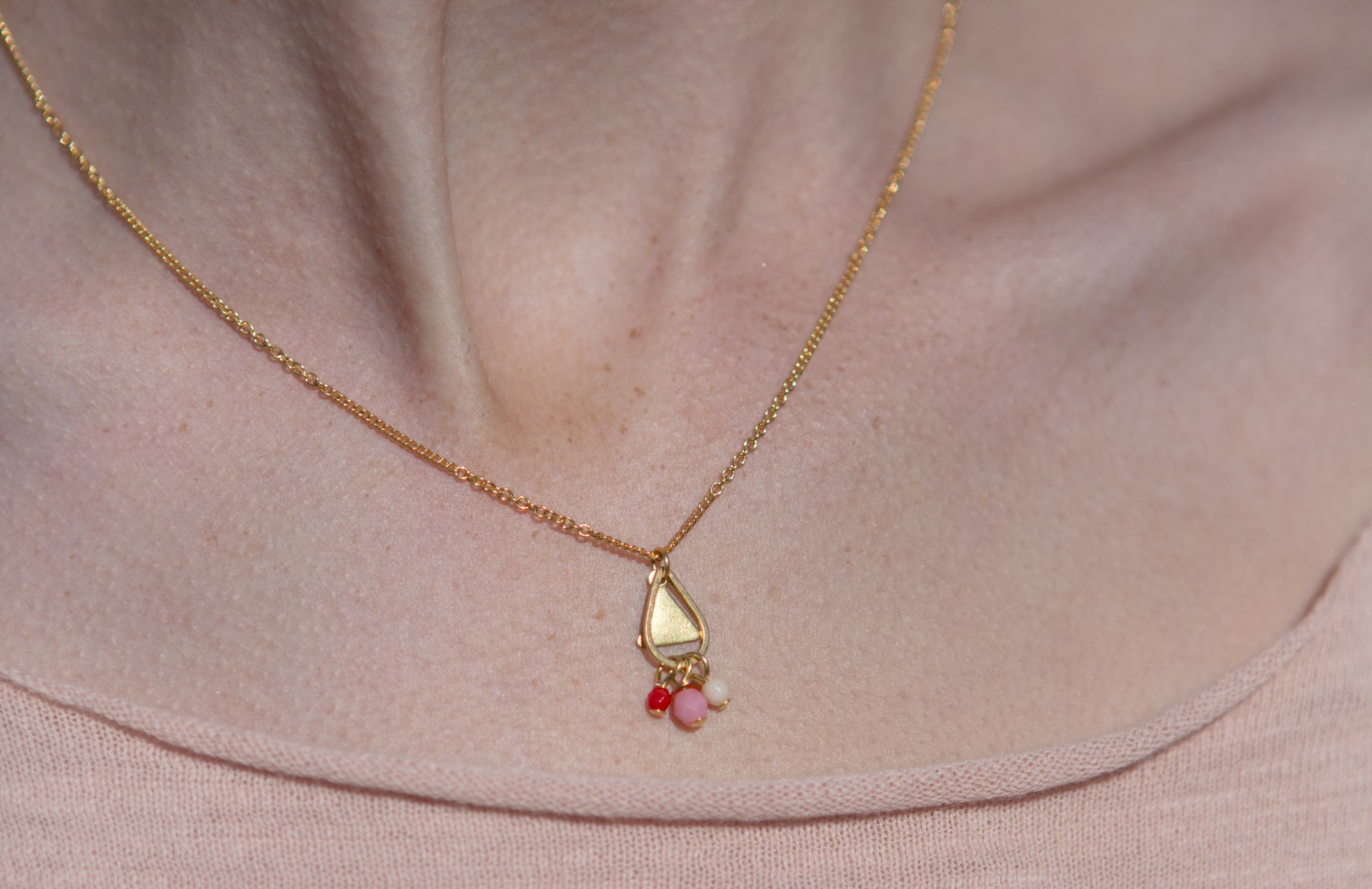 collier Larme rouge-5