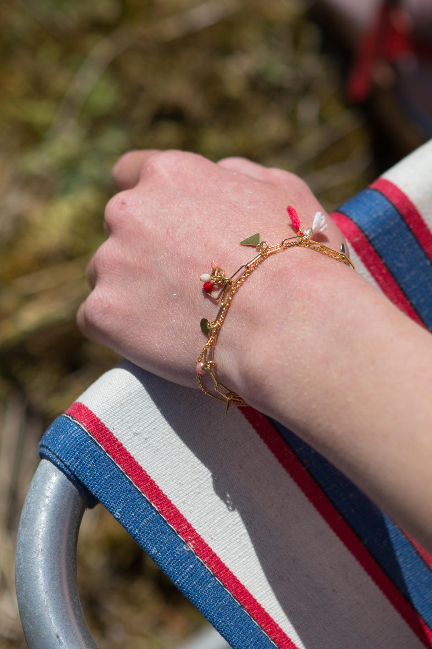 bracelet Idole rouge-5