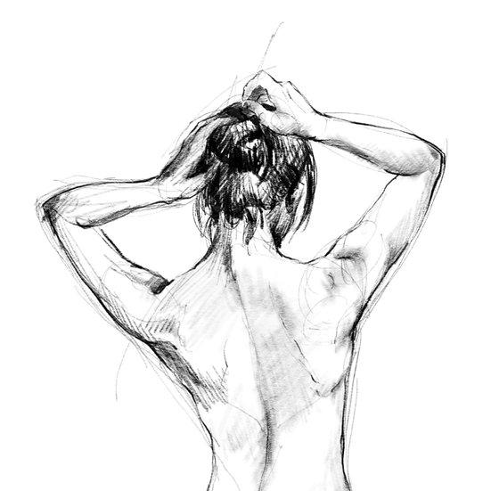 Dibujo Desnudo Femenino 3